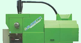 The Guidetti W.I.R.E.S wire processing system processes copper and aluminum wire into higher value sorted chops