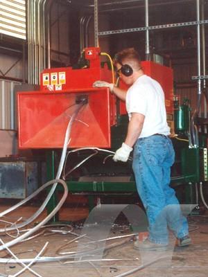 Model 5703 Heavy Duty Scrap Chopper Preferred Recycling