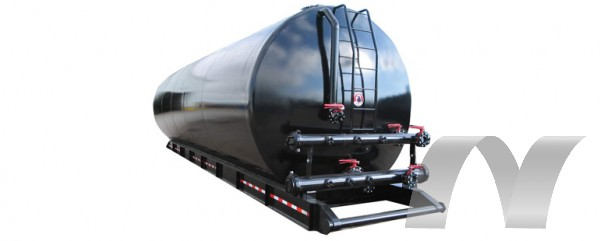 500bbl Round Skid Tank Preferred Recycling Equipment
