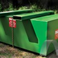 Pac-Bloc metal compactor for 20, 30, and 40 yard containers